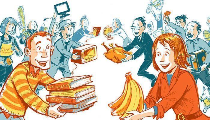Uma imagem de bens e serviços.Por favor.Me ajudem - Brainly.com.br