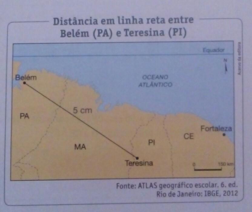 mapa quilometros No mapa cada 1 cm equivale a 150 km na realidade.a) Calcule, em  mapa quilometros