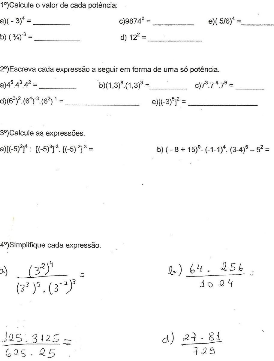 Me Ajudem A Responder Essa Atividade De Matematica Obrigado Espero Respostas Brainly Com Br