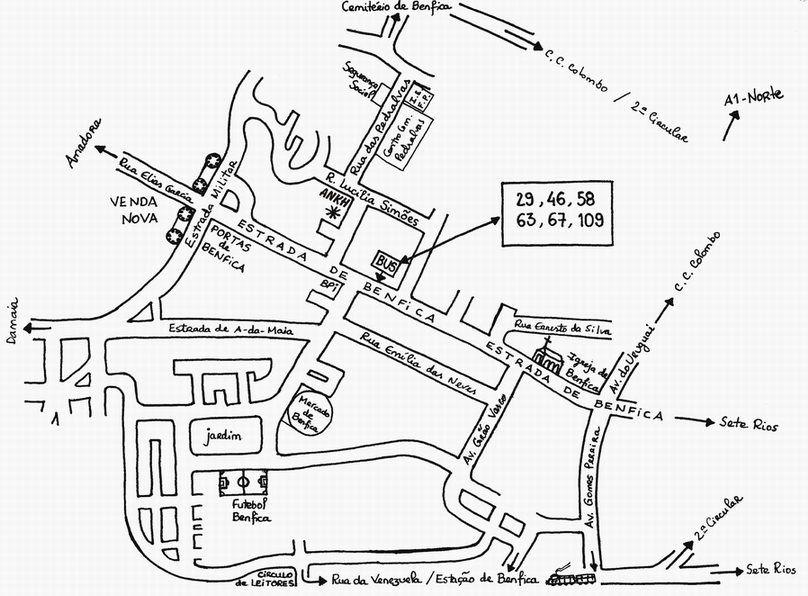 croqui mapa tenho uma representação de uma sala de aula,e a pergunta do livro  croqui mapa