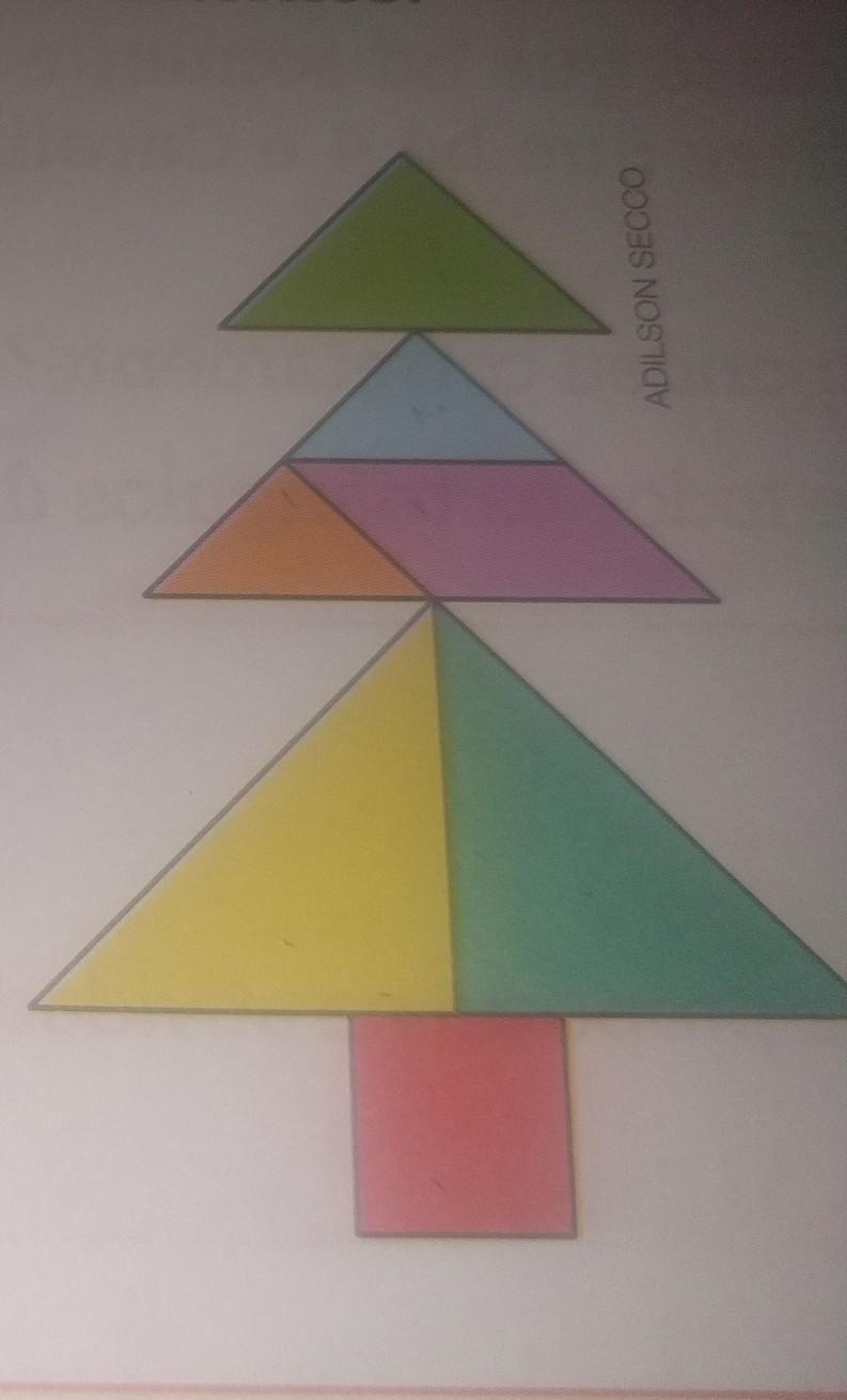 classifique os triângulos do Tangram quanto a média de seus lados e ângulos  internos - Brainly.com.br