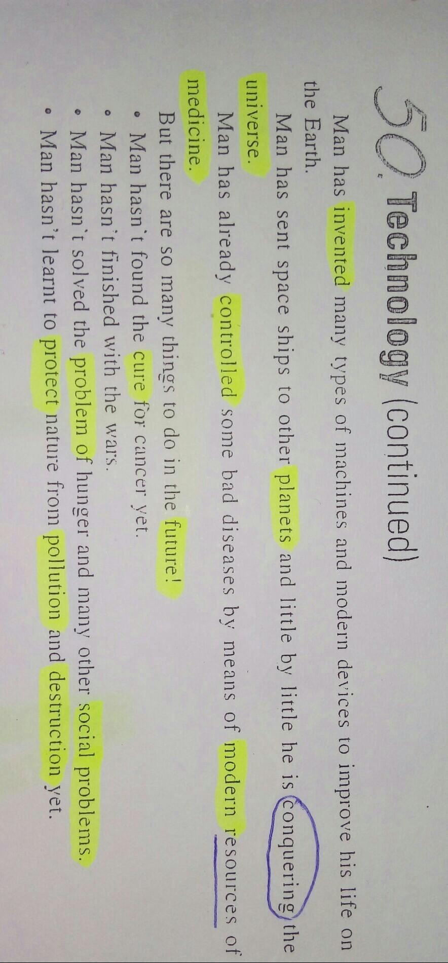 Copie Do Texto Uma Frase Afirmativa No Simple Present E Uma