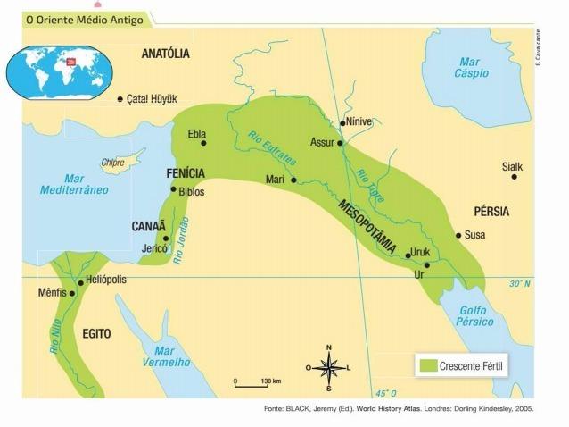 a) Observe o mapa e responda: quais eram os principais rios da ...