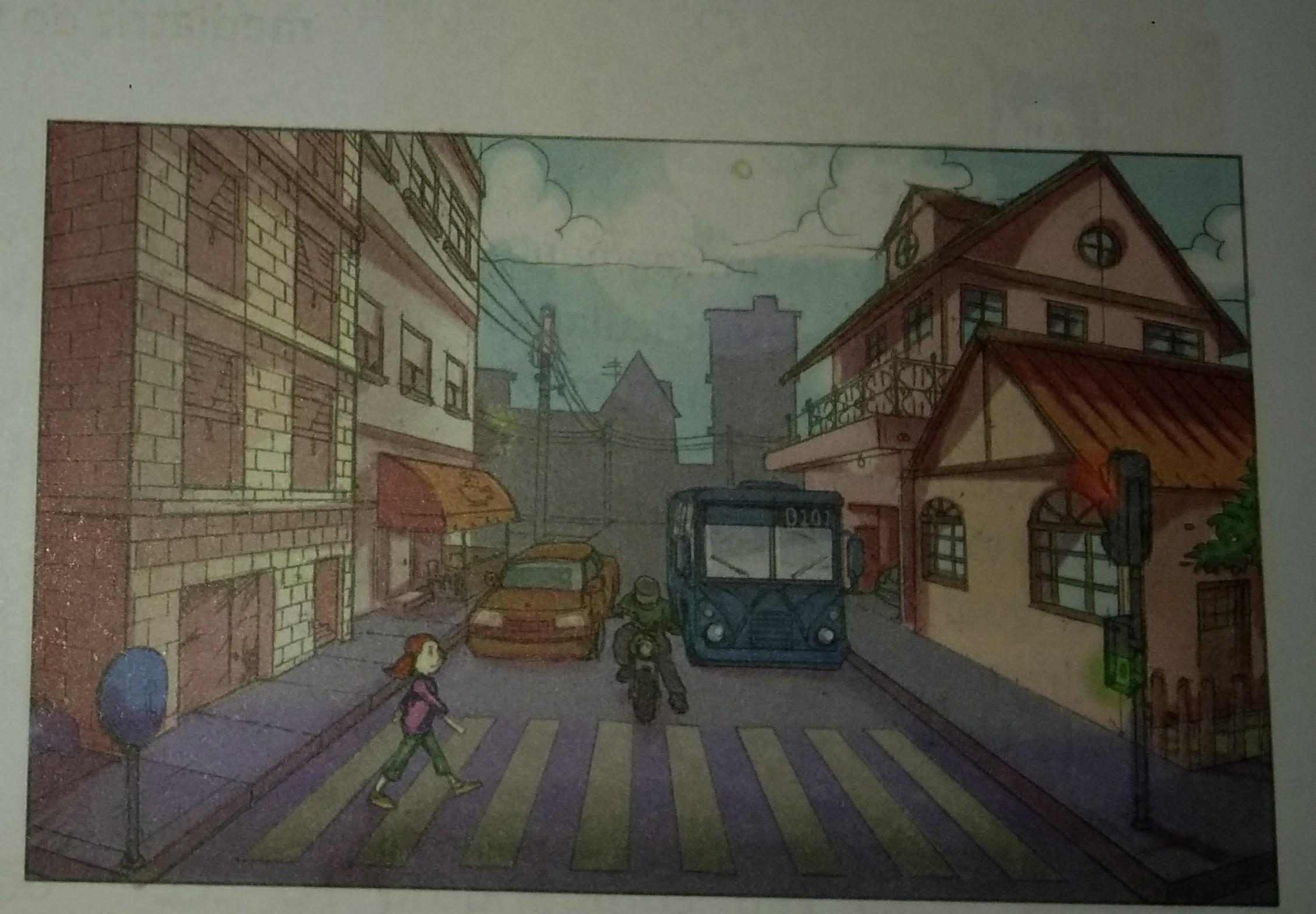 4cfc532ca A figura representa um trecho de uma rua de uma cidade. Nesse trecho da  rua, as calçadas são paralelas e a faixa de pedestres é formada por um  conjunto de ...