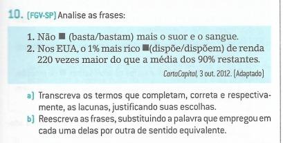 10fgv Sp Analise As Frases1não Bastabastam Mais O Suor E