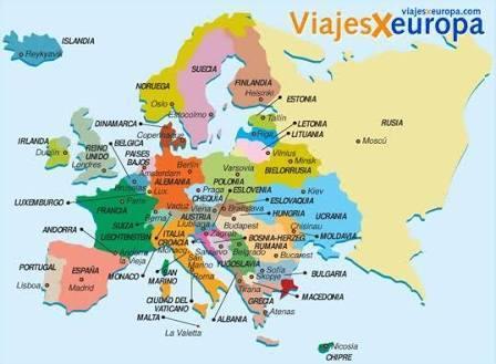 Mapa Da Europa Paises E Capitais Me Ajudeeem Por Favor Brainly