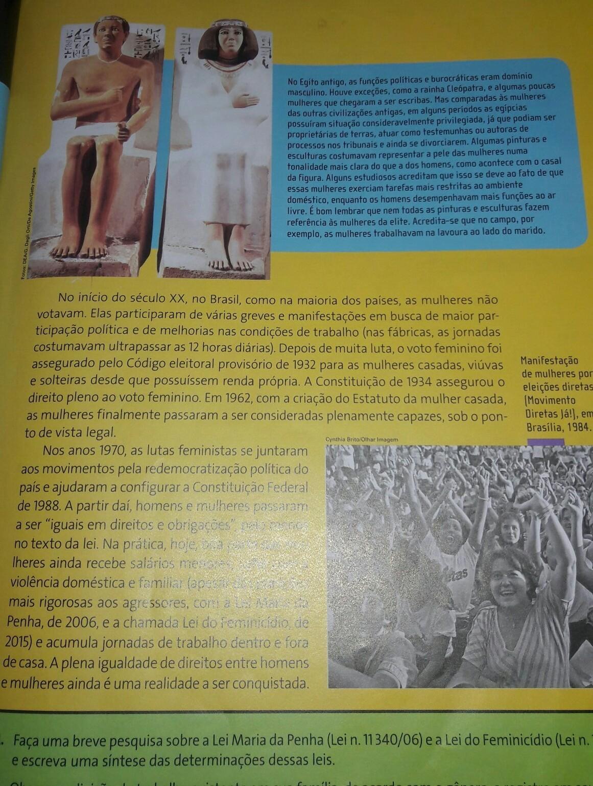 Observe novamente a imagem do casal de Príncipes egípcios e a ... 82e52cf3228