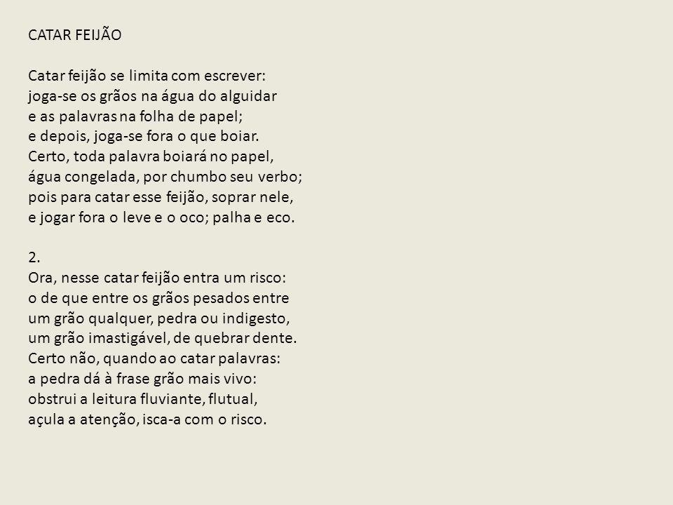 Para Alguns Especialistas A Poesia De João Cabral é Uma Poesia