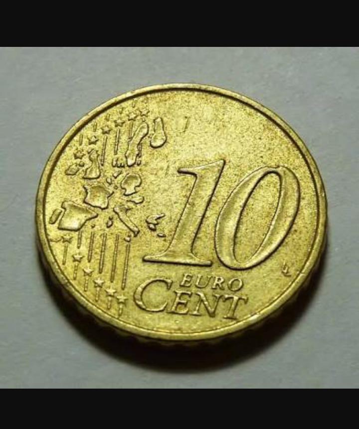 quanto vale uma moeda de 10 euro cent em reais ? - Brainly.com.br