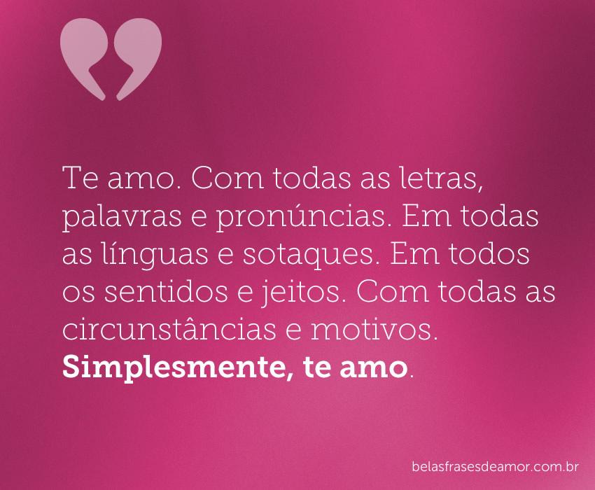 Frase De Amor Romantica Brainlycombr