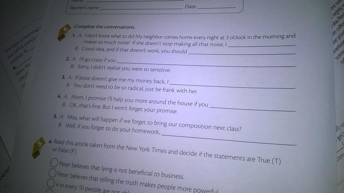 homework cna respostas