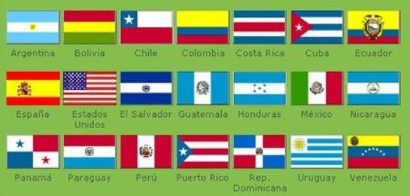desenhos de banderias dos paises que falam espanhol brainly com br